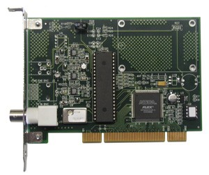 PC-456PC LTC SMPTE or EBU PCI Interface Card