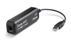 Dante AVIO USB IO Adapter 2x2