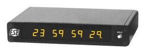 LX-453U SMPTE / EBU Timecode Display