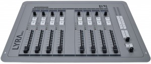 Lyra, 8 fader control surface unit