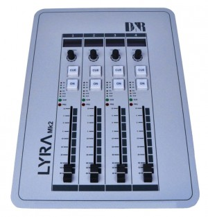 Lyra, 4 fader control surface Extender