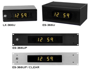 ES-366U Time Code Remote Display