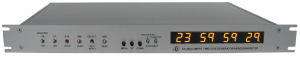 ES-488U SMPTE / EBU Time Code Reader, Generator & Video Inserter