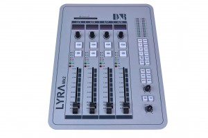 Lyra, 4 fader control surface unit